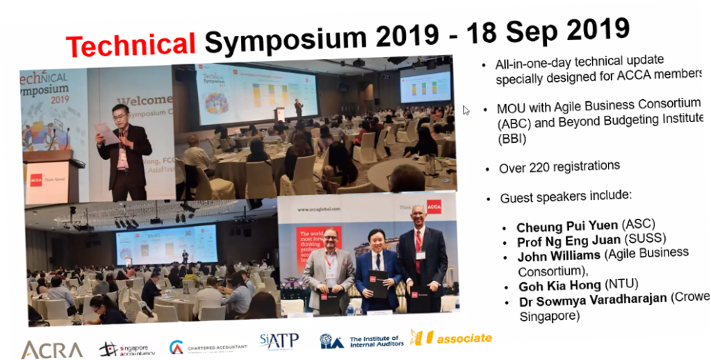 ACCA Technical Symposium 2019
